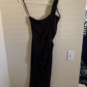One strap cutout dress
